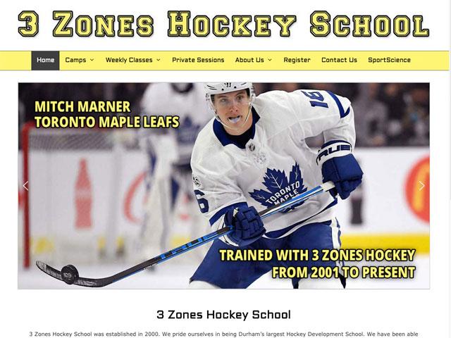 3 Zones Hockey School