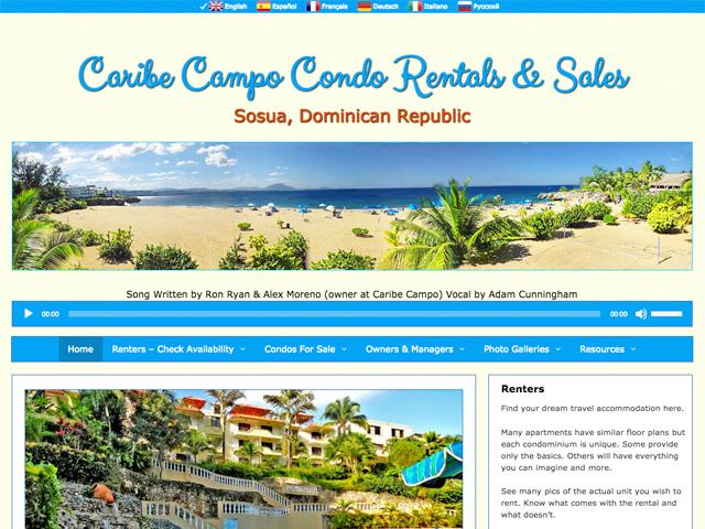 Caribe Campo Condo Rentals & Sales