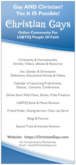 Christian Gays flyer side 1