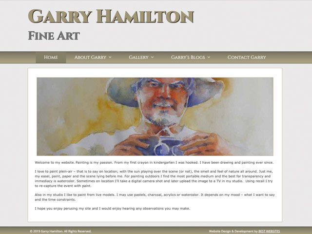 Garry Hamilton Fine Art