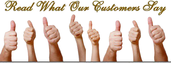 Testimonials - Read What Our Customers Say