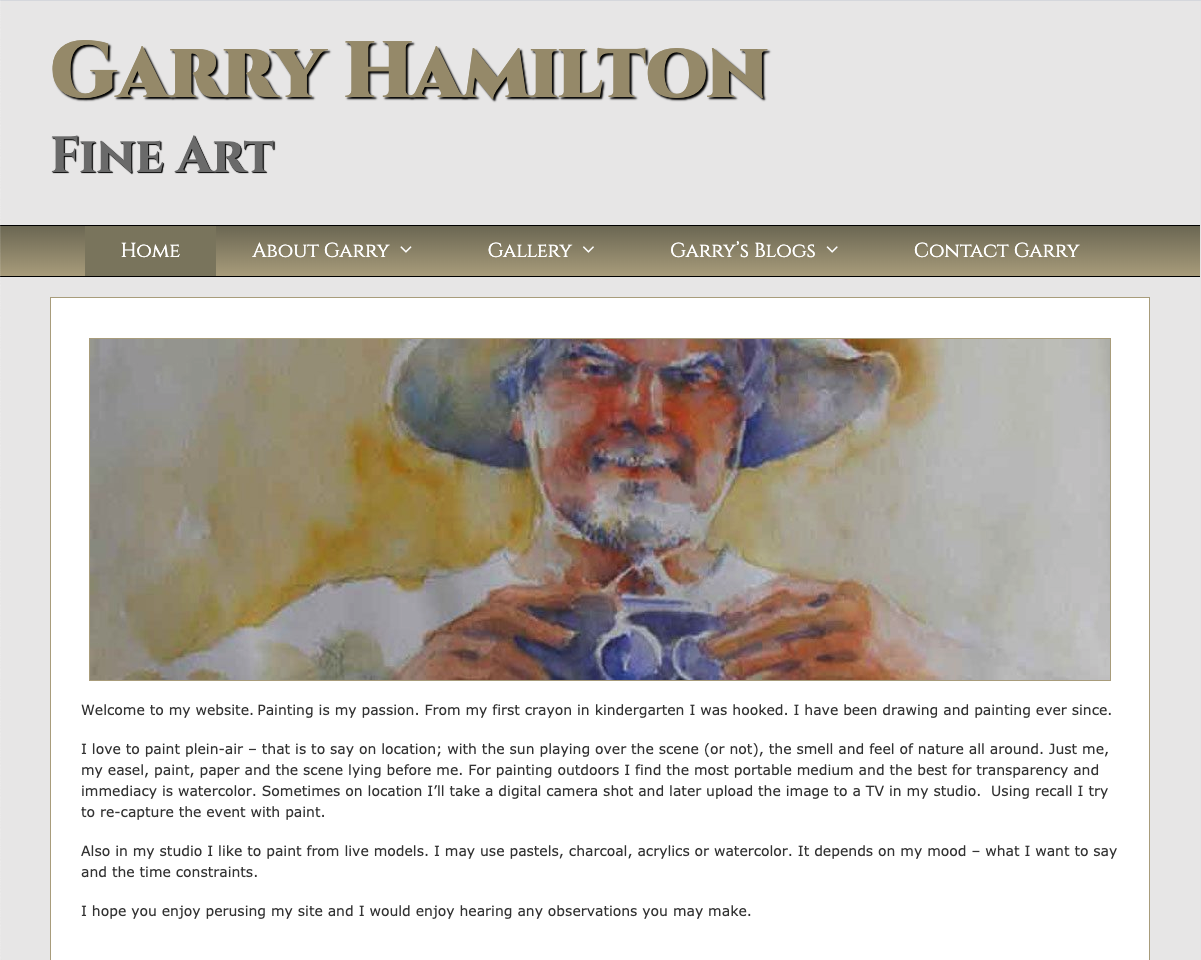 Garry Hamilton Fine Art