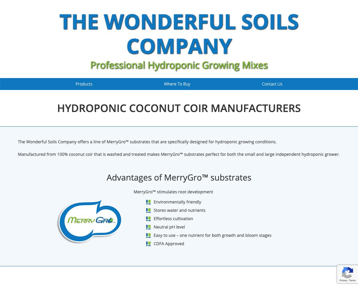 The Wonderful Soils Company