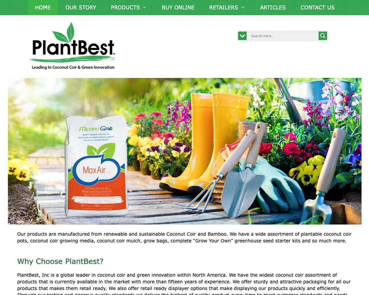 PlantBest Inc - Coconut Coir & Green Innovation Global Leaders