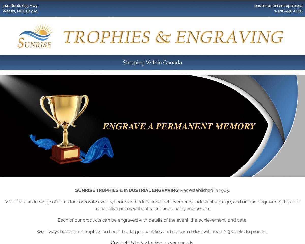 Sunrise Trophies & Industrial Engraving